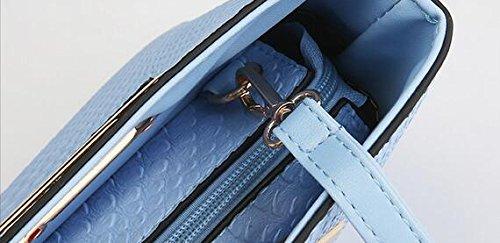 Crocodile Pattern Womens Grip Strap Leather Clutch with Beige Metal MILATA out it Shoulder Faux Cut Handbag 5dUBOdqxw