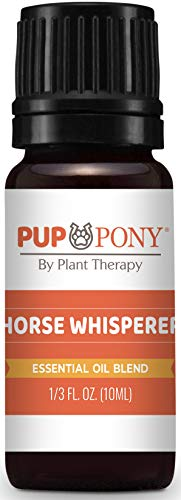 Plant Therapy Pup & Pony | Horse Whisperer Essential Oil Blend, Natural Aromatherapy for Dogs & Horses | Anxiety Support Blend | 100% Pure 10 mL (1/3 oz)