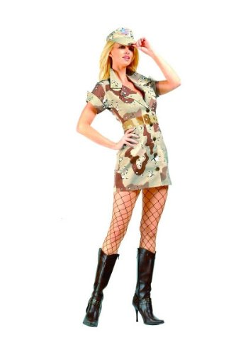 Military pin up costumes seasonal holiday guide rg costumes womens storm fox tanbrown small2 4 solutioingenieria Images