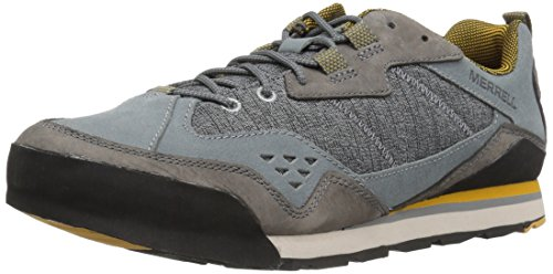 Merrell Men's Burnt Rock Fashion Sneaker, Castlerock, 10.5 M US by Merrell