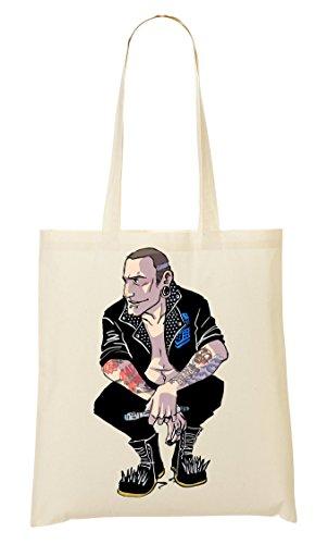 Borsa Shopping Punk Bag Punk Shopping Roccia fqIqZpw