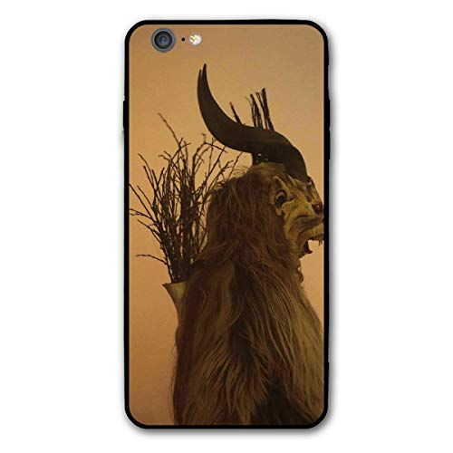 Folklore Christmas Changing Mask of Krampus iPhone 6splus 6 6s Plus 6plus Theme Cover Decorative Mobile Accessories Ultra Thin Lightweight Shell Pattern Printed