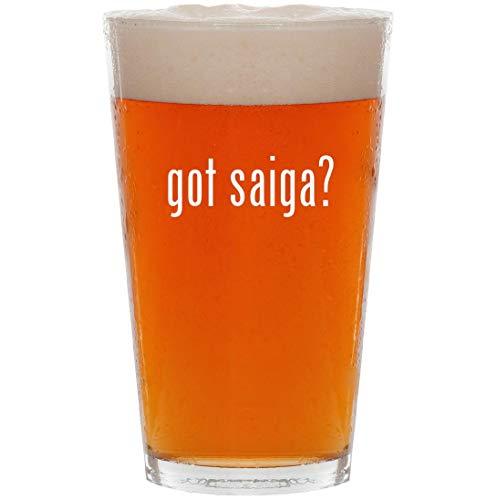 got saiga? - 16oz All Purpose Pint Beer Glass