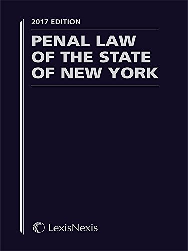new york state penal law - 1
