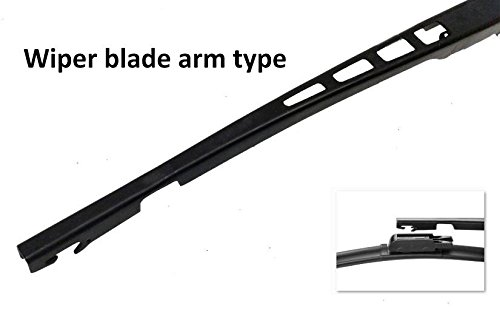 Set de parte delantera sin marco soporte de Aero limpiaparabrisas cuchillas HQ Automotive - ADR62 - 628 Twin Box: Amazon.es: Coche y moto