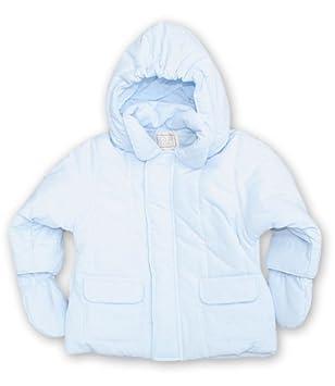 3ebd15f62 Emile et Rose Blue Microfibre Jacket with Mitts