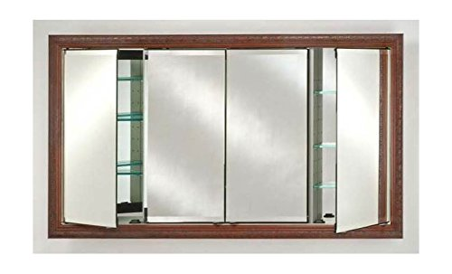 - Afina FD5830RPALCE Four Door Recessed Medicine Cabinet with Parliament Frame 58