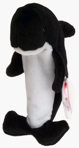 Ty Beanie Babies - Waves the Whale (Surf And Turf Delivery)