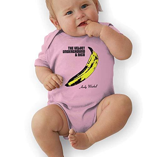 (JRMM Newborn Baby The Velvet Underground & Nico Climbing Bodysuit)