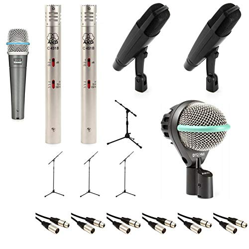 Sennheiser 6-Piece Complete Drum Microphone Package