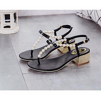 SHOES-XJIH&Uomini sandali Comfort luce suole in cuoio estate informale comfort suole luce marrone piatto nero,marrone,US9.5 / EU42 / UK8.5 / CN43