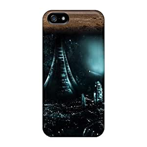 Shockproof Scratcheproof Underground City Hard Cases Covers For Iphone 5/5s