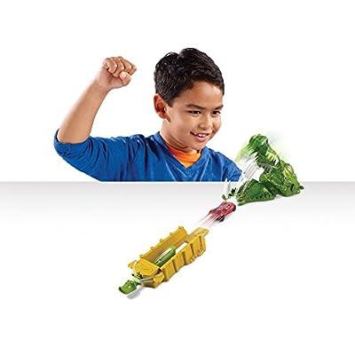Hot Wheels Crocodile Crunch Track Set: Toys & Games