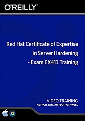 Red Hat Certificate of Expertise in Server Hardening - Exam EX413 Training DVD