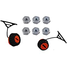 PODOY Gas Fuel Oil Cap with Bar Nuts for STIHL 020 021 023 024 025 026 028 034 036 038 048 Chainsaw