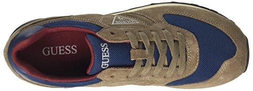 Multicolore a Uomo Sneaker Beige Guess Charlie Collo Basso gqOEY7