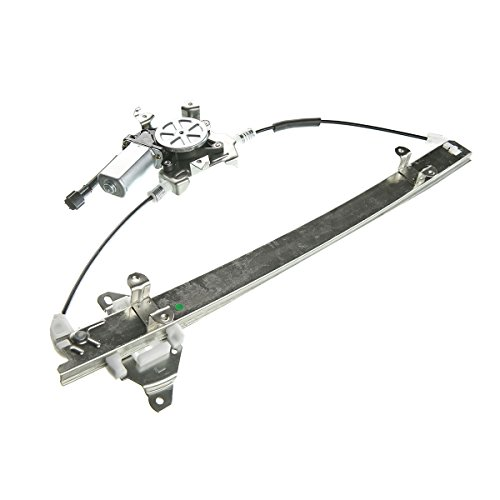 Pathfinder Power Regulator Driver Window - A-Premium Power Window Regulator with Motor for Nissan Frontier Xterra 2005-2015 Pathfinder Suzuki Equator Front Left Driver Side