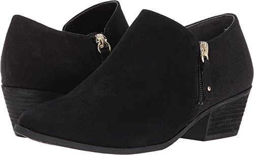 Dr. Scholl's Women's Brief Ankle Boot, Black Microfiber, 8 W US by Dr. Scholl's