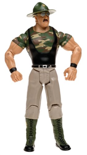WWF WWE WRESTLING - CLASSIC SUPERSTARS - SERIES 2 - SGT. SLAUGHTER ACTION FIGURE - Wwf Wwe Jakks Figure