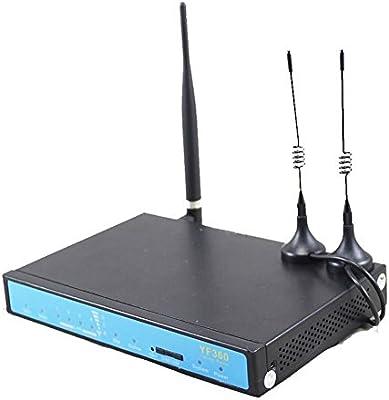 Yifan Wireless Router inalámbrico 4G LTE con Ranura para Tarjeta ...