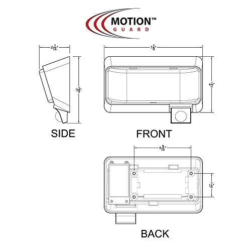 Mg1000 450 12 Volt Exterior Motion Rv Led Porch Light Rv