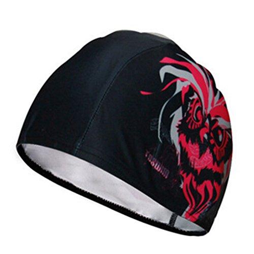Mode unisexe Bonnet de bain bonnet de bain Swim Hat Protector cheveux ##8