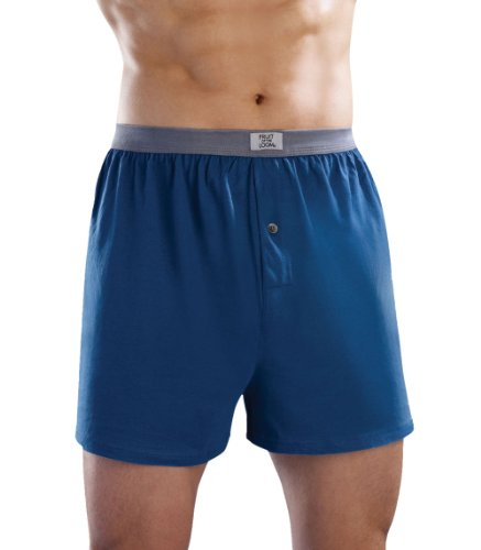 Fruit of the Loom 5pk Knit Boxers - Soft Stretch - M