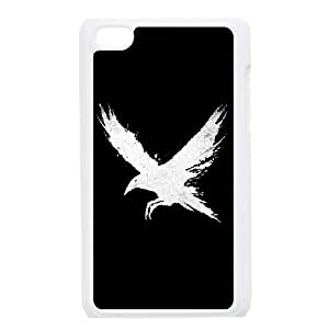 iPod Touch 4 Case White The Raven ( White Version ) Gaikf