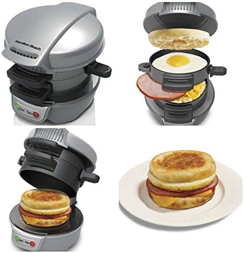 Elektrischer Frühstücks-Sandwichmaker | Frühstücksmacher