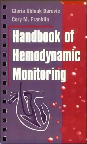 Handbook of Hemodynamic Monitoring, 1e