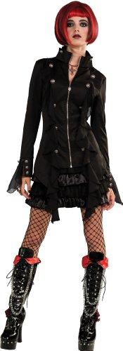 (Rubie's Costume Bloodline Sweet Revenge Gothic Jacket and Skirt, Black, Small)