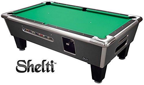 Shelti Bayside Pool Table Charcoal Matrix - 93