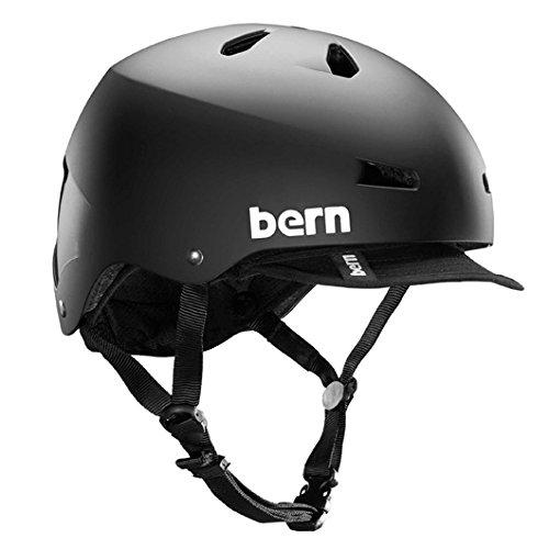 (バーン) bern ヘルメット メコンバイザー xxxl Macon Visor スノーボード 05:JP-L (60.5-62.0cm)US-XXL Matte Black B00MO6RJGQ