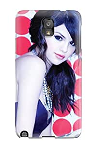 Awesome Selena Gomez 36 Flip Case With Fashion Design For Galaxy Note 3