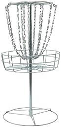 DGA M-14 Portable Disc Golf Practice Basket – Lightweight Steel Target
