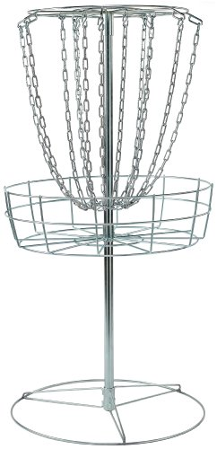 DGA M-14 Portable Disc Golf Practice Basket – Lightweight Steel Target