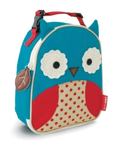 Skip Hop Zoo Lunchies Owl Lunch Bag