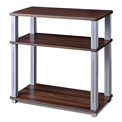 3 Shelf Component Racks - FDInspiration Walnut 24