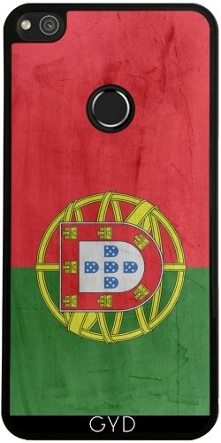 Funda de silicona para Huawei P8 Lite 2017 - Bandera De Portugal by wamdesign