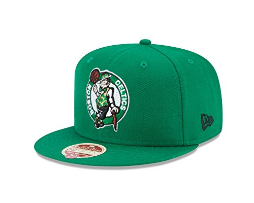 NBA Boston Celtics Classic Wool Fitted 59FIFTY Cap, 7.125, Green