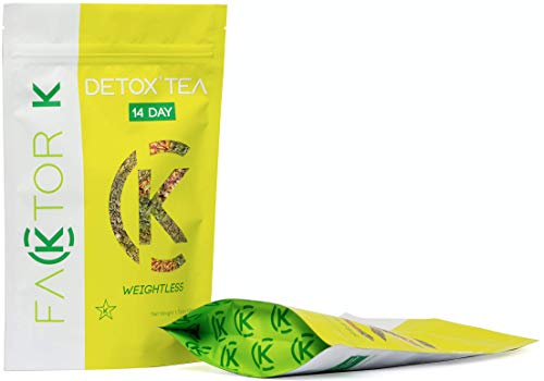 (Kosher Detox Tea by Faktor K - 14 and 28 Days Weight Loss Teatox - 100 % Natural Herbal Cleanse)