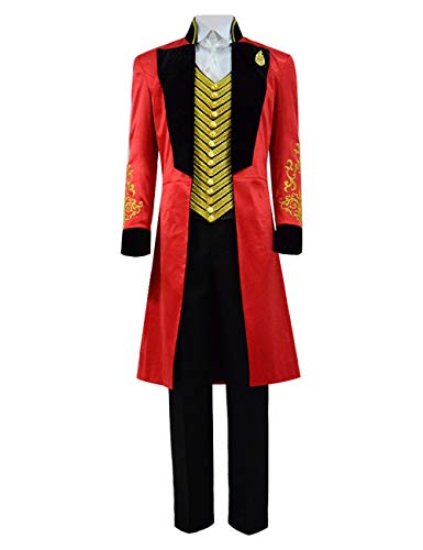 BellaPunk Kids Boys Barnum Costume Girls Halloween Greatest Show Cosplay (Kids 6, Fullset) ()