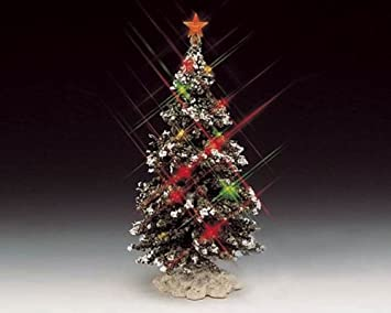 Amazon.com: Mini Lighted Christmas Tree Approx. 6 Tall: Kitchen ...