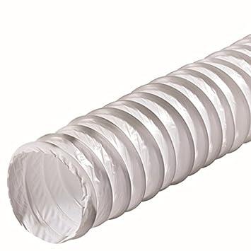 Durchmesser: 150 mm Fibo24 /Ø 100 150 cm Abluft-Rohr L/änge: 300 cm 100 125 150 mm Flexschlauch 50