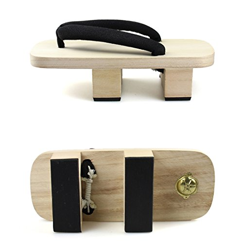 Womens Japanese Style Wooden Geta Clogs Sandals Footwear Sem40a-1 eW8oXy7ZI