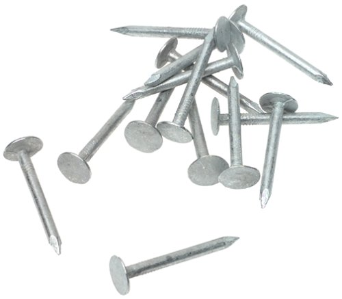 Grip Rite 114EGRFG1 1 1/4 Inch Electro Galvanized Roofing Nail, 1 Pound    Hardware Nails   Amazon.com