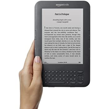 "Kindle Keyboard, Wi-Fi, 6"" E Ink Display - includes Special Offers & Sponsored Screensavers"