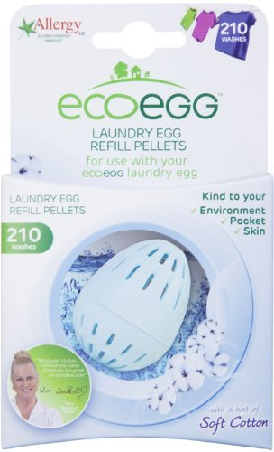 Ecoegg Laundry Egg Refill Pellets (210 Washes) - Fresh Linen by Ecoegg