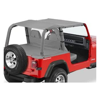 safari bikini top black denim for 1992 95 jeep wrangler yj automotive. Cars Review. Best American Auto & Cars Review