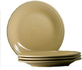product image for Fiesta 10-1/2-Inch Dinner Plate, Ivory, Set of 4